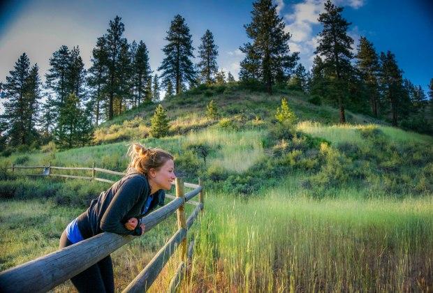 Katie in Field