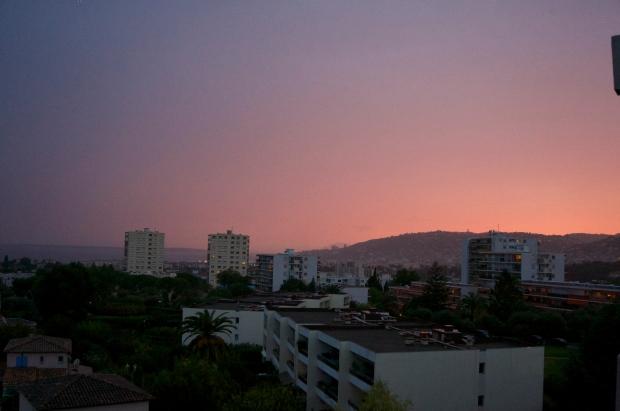 Antibes sunset