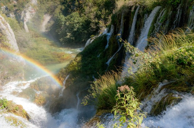 PlitviceWaterfallRainbow