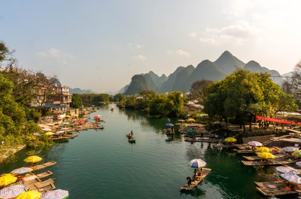 Yulong River Dragon Bridge