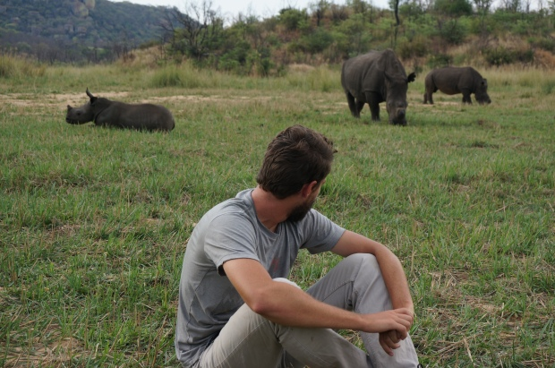 Getting too close to Rhinos